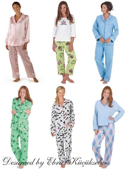 Bayan Pijama Home Wear